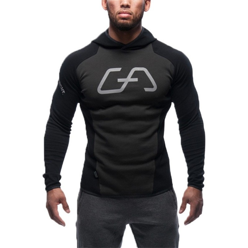 2017 new design hoodie ripped damage mens
