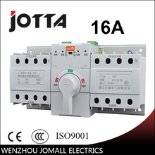 16A 4P new mini type ats Automatic Transfer Switch Rated voltage 220V /380V Pole 4 frequency 50/60Hz
