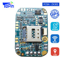 GPS Tracker GSM Wifi+GPS+AGPS+LBS PCBA ZX301 Make Receive Calls Real time Tracking Geo Fence for GPS Locator Android Smart Watch