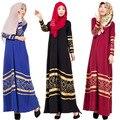 3 Cores Das Mulheres Abaya Kaftan Abayas Vestuário Islâmico para As Mulheres Robe Kaftan Malásia Turco Senhora Vestido Longo