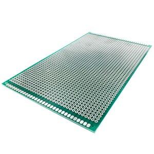 Image 5 - 20 шт 9x 15 см Прототип PCB 2 слоя 9*15 см панель универсальной платы двойная сторона 2,54 мм зеленый