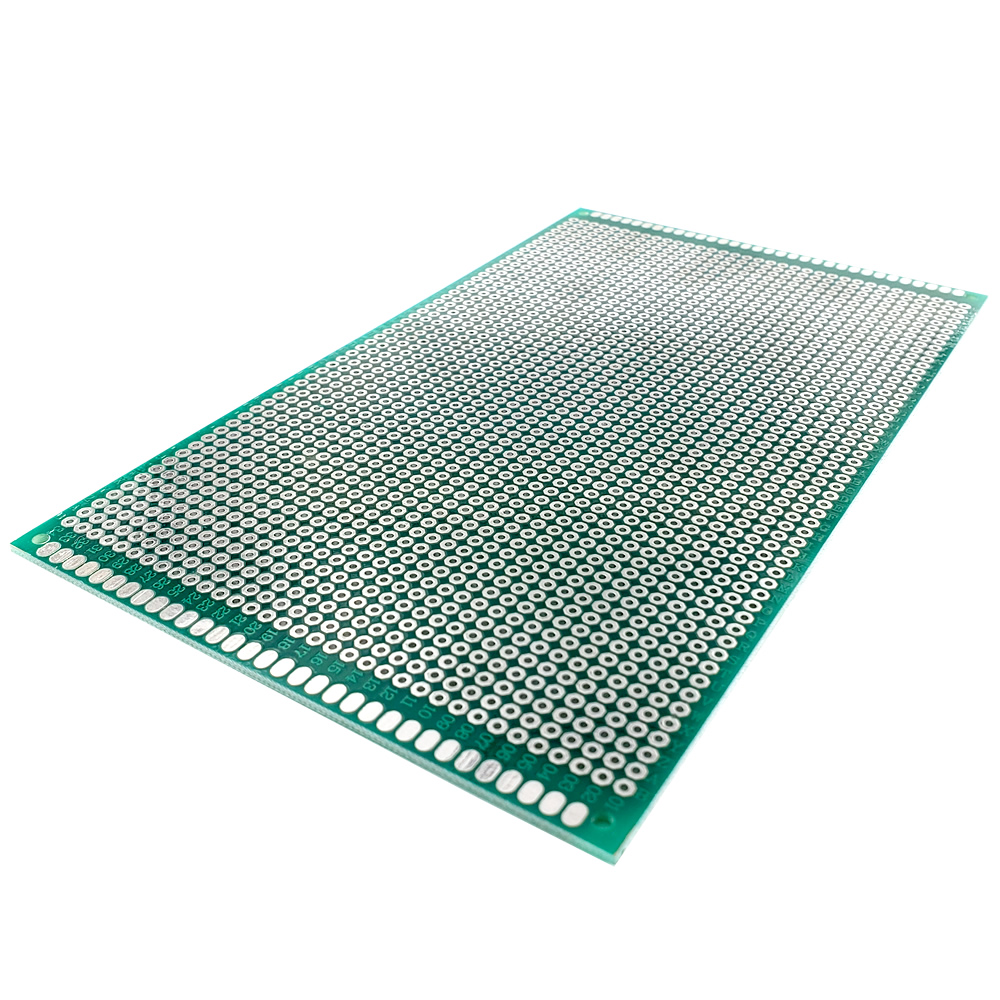 Image 5 - 20 pcs 9x15 cm PROTOTYPE PCB 2 layer 9*15CM panel Universal Board double side 2.54MM Green-in Double-Sided PCB from Electronic Components & Supplies