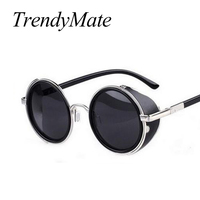 Steampunk Sunglasses Women Round Glasses Goggles M ...