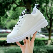 LAISUMK Women Casual Shoes Summer 2018 Spring Fashion Embroidered Breathable Hollow Lace-Up Sneakers