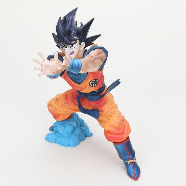 20cm Anime Dragon Ball Z Figure Son Goku Fighting Master Roshi Shock