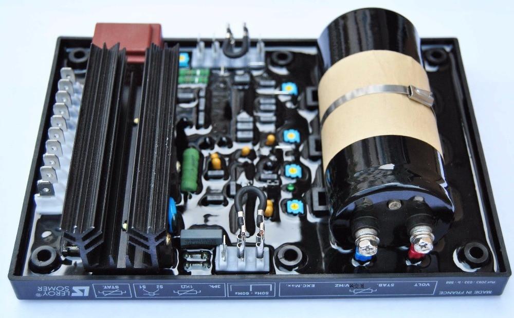 brushless generator parts R448 avr voltage regulator цена