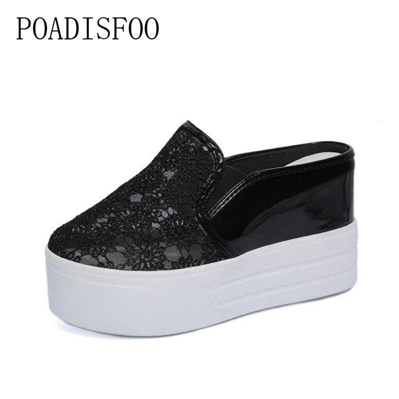 4b18c5e154bf POADISFOO-2018-spring-women -Sandals-Round-Toe-platform-flowerSlip-On-black-casual-Slipper-for-ladies -DFGD.jpg