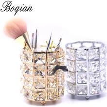 BQAN 1 Pc Diamond Nail Brush Holder Storage font b Case b font font b Bag