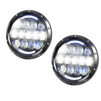 For Jeep Wrangler Led Headlight Super Bright 105W 7 INCH High And Low Dual Beam White