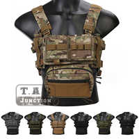 Emerson Taktik Brust Rig Micro Kampf Jagd Schießen MK3 Modulare Leichte Brust Rig Mit 5,56 MOLLE Zeitschriften Pouch SACK