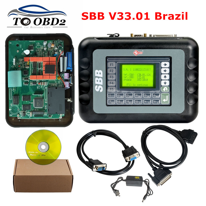High quality SBB V33 01 real version is especially suitable for Brazilian cars V33 01 Brazil