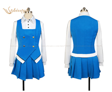 Kisstyle Fashion Kin-iro Mosaic Yoko Inokuma Uniform Cosplay Clothing Costume