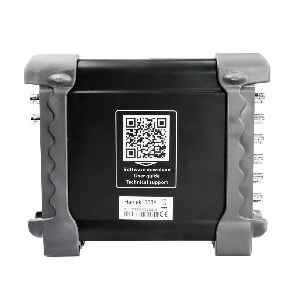 Hantek 1008A PC USB virtual Oscilloscope 8CH Automotive Diagnostic Auto Scope DAQ Generator 2 4MSa s