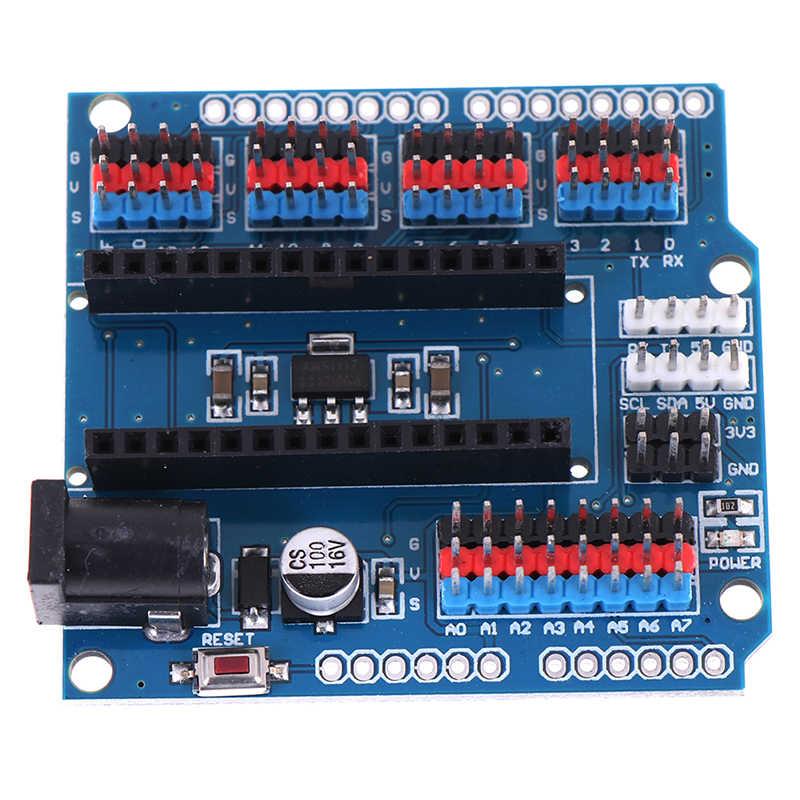 وحدة ل Arduino Nano v3.0 3.0 I/O IO لوح تمديد مايكرو الاستشعار درع وحدة Uno R3 ليوناردو واحد