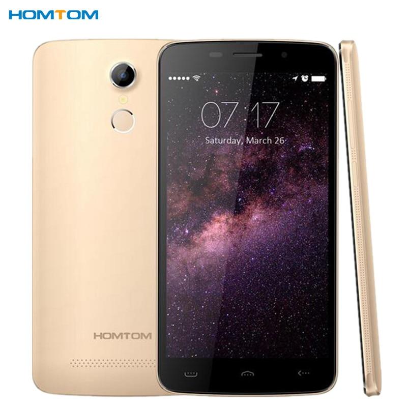 bilder für Homtom ht17's ht17 pro 4g lte handy 5,5 ips mtk6737 quad Core 1 GB RAM 8 GB ROM 3000 mAh Android 6.0 OTG fingerabdruck Handy