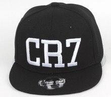 Yiwu Hats Wholesale Han Banchao New Pattern Children CR7 Male Girl Hip Hop, Hop Cap, Flat Edge Baseball Hat