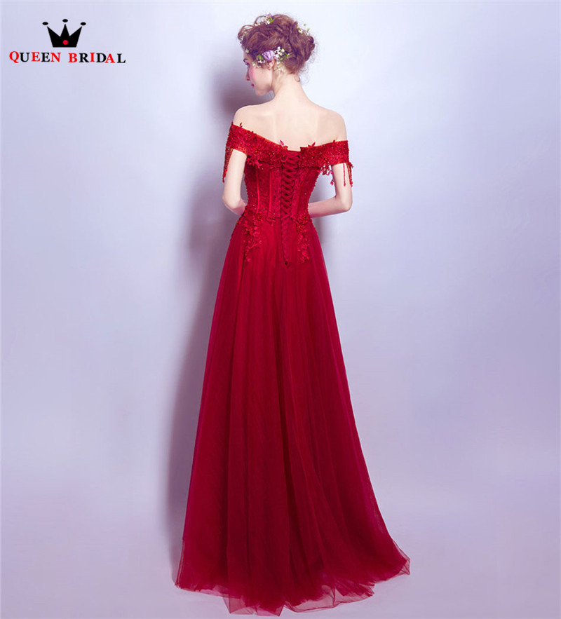 Detail Feedback Questions about QUEEN BRIDAL Evening Dresses Wine ... 6f7c0f4de615