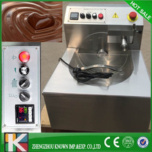 Stainless steel chocolate making/tempering machine price(8kg)