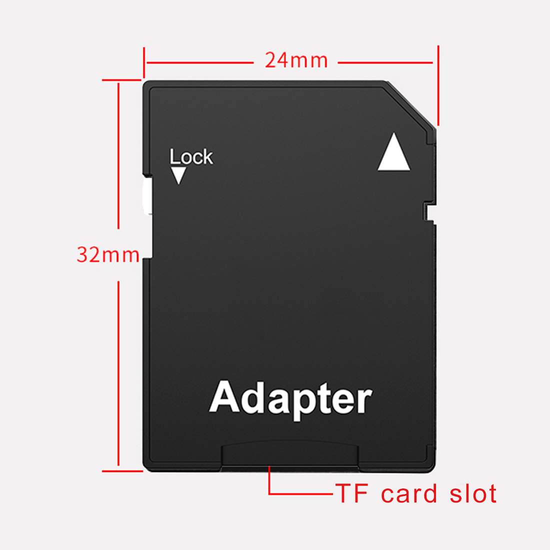 Image 5 - Etmakit  2PCS Hot Sale Popular Micro SD TransFlash TF to SD SDHC Memory Card Adapter Convert into SD Card-in Card Readers from Computer & Office