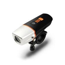 Интеллектуальный индукционный велосипед передний световой комплект 2000 мАч аккумуляторная USB