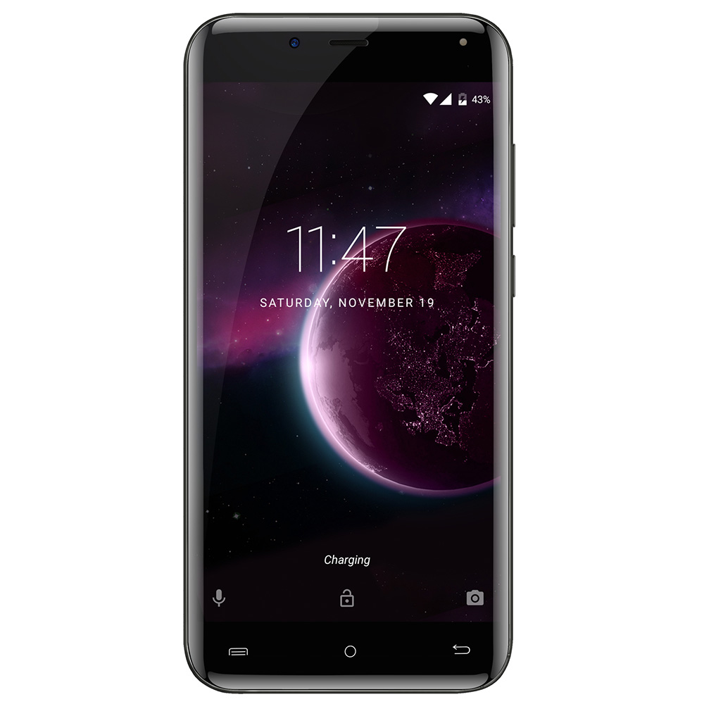 Remis à neuf CUBOT Magic 4G Smartphone Android 7.0 5.0 pouces IPS 3GB RAM 16GB ROM 13.0MP + 2.0MP corps incurvé téléphone portable - 2