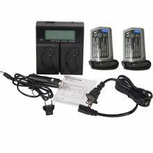2x LP-E19 LPE19 полностью расшифрованный Батарея+ Зарядное устройство для Canon LP-E4 LP-E4N LPE4N EOS 1DX MARK 2, 1DX, 1DS MARK 3, 1D MARK 3, 1D отметки 4