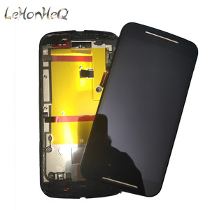 Image 3 - 10 Piece/lot For Motorola MOTO G2 G+1 XT1063 XT1068 LCD Display Touch screen Digitizer Assembly For MOTO G 2nd XT1069 LCD