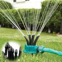 Multifunctional Sprinkler Flexible 360 degrees Noodle head Stand Irrigation Sprinkler Nozzle Lawn Garden Water Sprayer Sprinkler