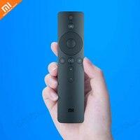 Xiaomi mijia voz Bluetooth inteligente Bluetooth controle remoto 4.2 controle remoto para Xiaomi caixa de TV e TV versão melhorada|Controle remoto inteligente| |  -