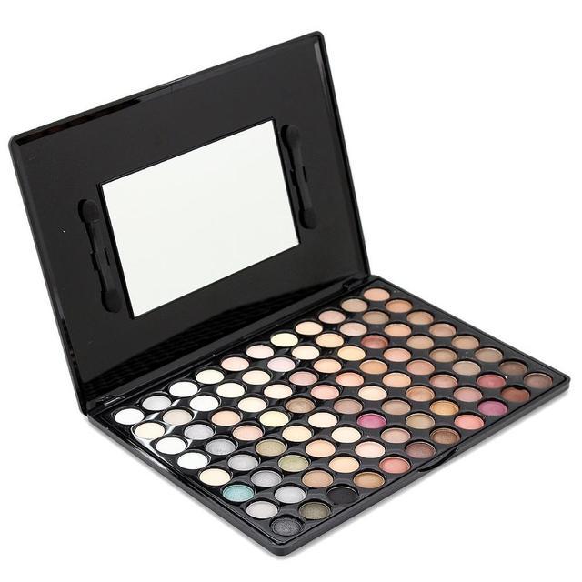 New Pro 88 Colors Eye Shadow Palette Matte & Shimmer Eyeshadow Makeup Tool Set