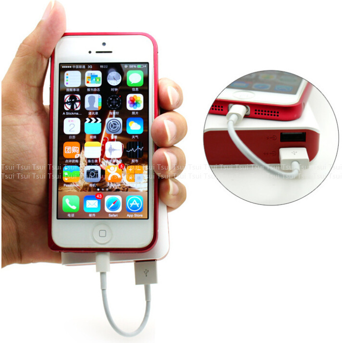 10cm SHORT THICK Data Charger USB Cable WHITE for iPhone 7 ... Iphone 5 6 7 8 9