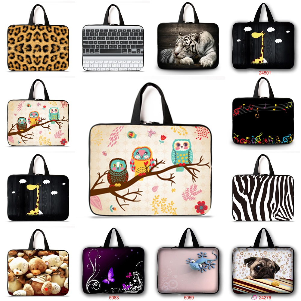 Support Customization Hd Color Printing Notebook Laptop Bag Sleeve Tas Macbook Pro Air Retina 11 12 13 14 15 Inch Case 97 101