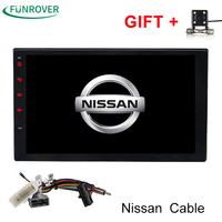 Funrover 2g 32g 2 Din Android Car Dvd For Nissan Qashqai X Trail Almera Pathfinder Teana