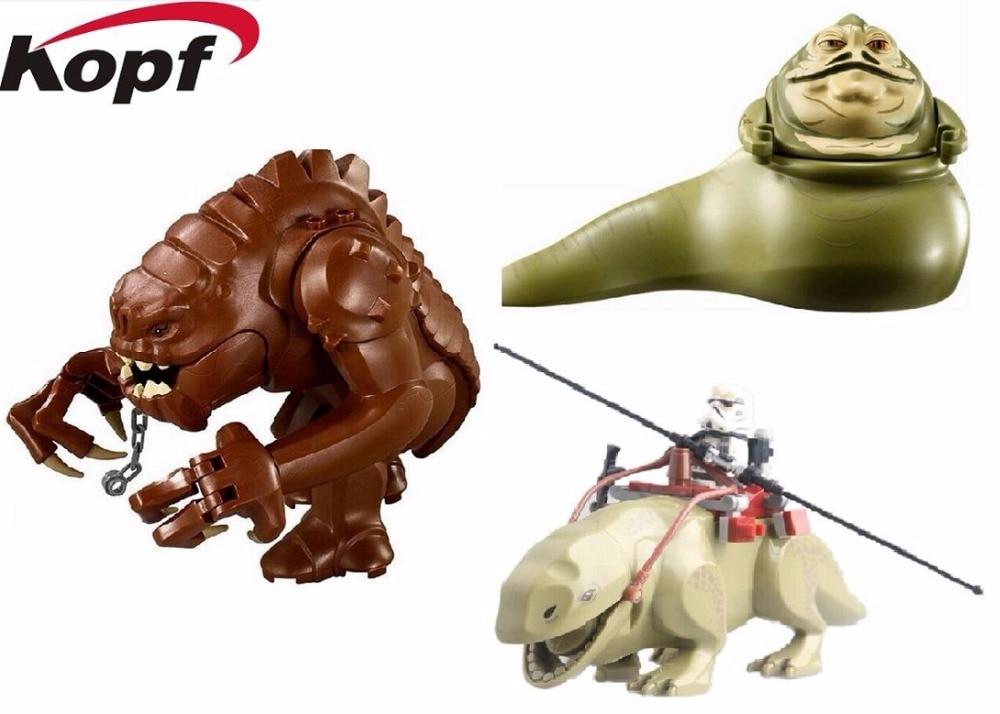 PG629 PG634 PG26 Star Wars Legacy Collection Jabba s Rancor Smaug Figures font b Building b