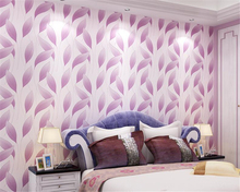 beibehang Fashion Modern 3D Relief Leaves Nonwovens Wall paper Living Room Bedroom TV Background papel de parede 3d Wallpaper  beibehang papel de parede 3d damascus relief wallpaper for walls 3 d bedroom modern living room mural wall paper contact paper