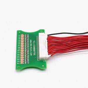 Image 2 - 3 S 17 S Lityum li ion pil LED Test Panosu koruma levhası Kablo Kablo 10 S 36 V 13 S 48 V 16 S 60 V BMS Hattı Konektörü Algılama