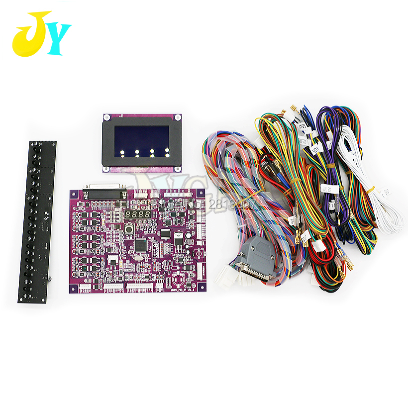 Crane Machine Claw Game PCB Board With English LCD Display Counting Sensor Wire Harness for PP