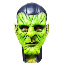 2019 Captain Marvel Mask Cosplay Skuru Talos Halloween Mask Handmade Props Latex Adult Prop Full Head Adult Unisex Masks(China)