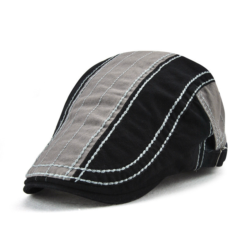 Hats Berets Autumn Winter Fashion Women And Patchwork Outdoor 12947 Hit Simple New-Arrival