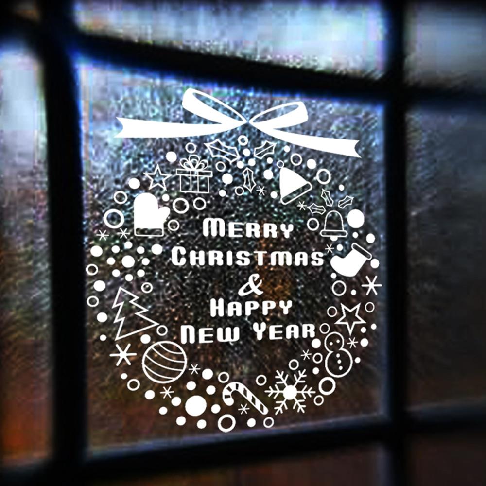 aliexpress com buy window stickers christmas decoration