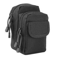 купить Tactical Waist Pouch EDC Molle Pouch Utility Small Pocket Gadget Belt Waist Bag Compact Tool Organizer Pack Phone Bag Holster по цене 527.32 рублей