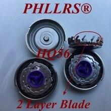 3 шт дважды Слои HQ56 замена головки лезвие бритвы для Бритва Philips HQ55 HQ46 HQ3 HQ4 HQ6842 HQ6842 HQ6844 HQ6849 HQ6853