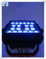 -4x высокий профессиональный Мощность открытый Wash свет 20x15 Вт RGBAW Шайба стены/летать случае