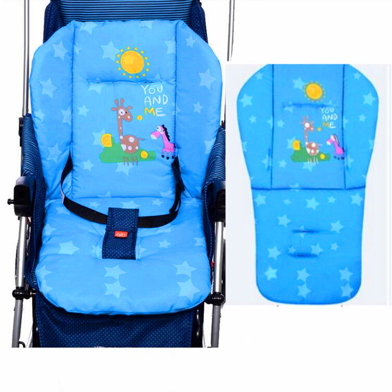 kidadndy Stroller Umbrellas General Cartoon Pony Pads Car Chair Thickening Thermal Pads LMY252