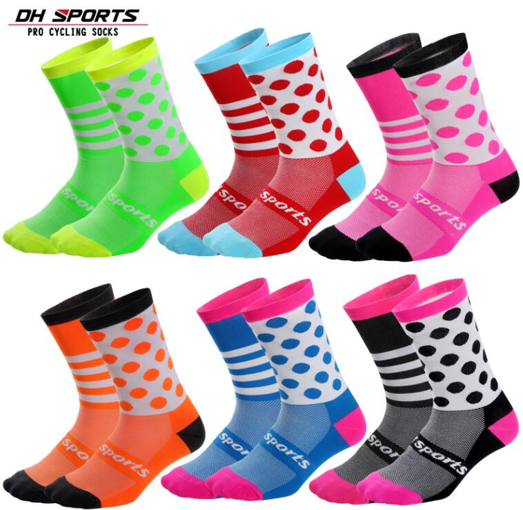 New Kids Cycling Socks Quality Girls Boys Sports Socks Comfortable Children Breathable Bike Compression Socks For 3-6 Years