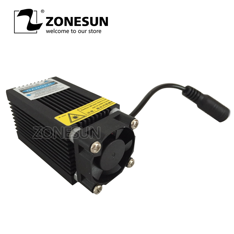 ZONESUN 5500mw Laser Module,laser Head 5500mw,DIY Laser,450nm Blue Light,DIY Laser Head