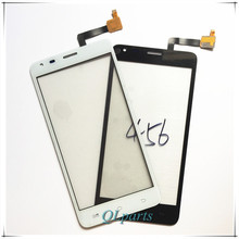 High Quality Replacement Mobile Phone Touch Screen For Fly IQ456 ERA Life 2 Front Digitizer Glass Panel Lens Touchscreen Sensor