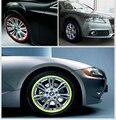 """A Fita do Aro Etiqueta Do Carro Acessórios do carro Carro Motocicleta rim Stripe 3 M Reflexivo 16 17 """"Fita roda Decalque Adesivos 16 pcs Por Conjunto"""