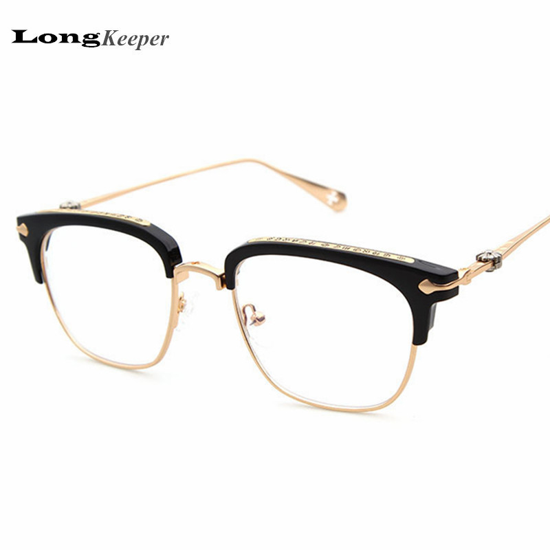 ღ Ƹ̵̡Ӝ̵̨̄Ʒ ღLongKeeper Brand Design Luxury Glasses Frame Top ...