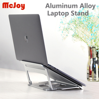 portable aluminum Folding Portable Dual-purpose design Aluminum Alloy Laptop Stand Bracket Cooler Cooling Pad for 10-17inch Notebook (1)